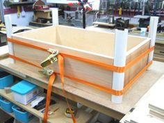 Dovetail & Box Joint Clamping Bridges / Ponts de collage pour queues d'aronde et droites
