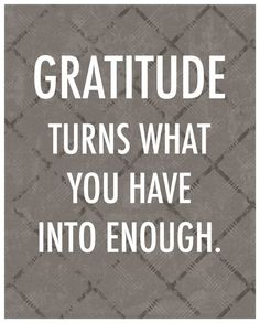 Thankful Quote Gratitude Inspirational by theartofobservation, $20.00