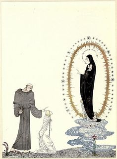 File:Kay Nielsen - East of the sun and west of the moon - the lassie and her godmother - here are your children I am the Virgin Mary.jpg