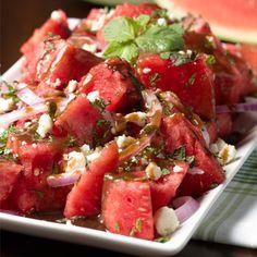 Watermelon Salad with Balsamic Vinaigrette - The Fresh Market