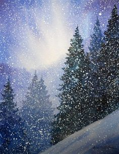 1000+ images about Christmas watercolor on Pinterest | Watercolor ...