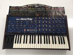 MATRIXSYNTH: Korg Mono/Poly Vintage Analog Synthesizer w/MIDIPo...
