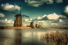 Kinderdijk Netherlands by Martin Jansen on 500px