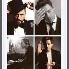 Robert Downey Jr, this man is gorgeous and so talented