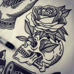 Tattoo Designs That Will Make You Want to Put Them All Over You - Beste Tattoo Ideen Tattoos Arm Mann, Skull Tattoos, Arm Tattoos For Guys, Trendy Tattoos, Future Tattoos, New Tattoos, Body Art Tattoos, Sleeve Tattoos, Cool Tattoos