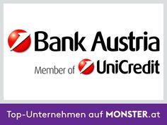Die Bank Austria ist die Nummer 1 in Österreich und Zentral- und Osteuropa. Seit 2005 sind wir Mitglied der UniCredit, einer der führenden europäischen Bankengruppen. Mehr auf http://unternehmen.monster.at/profile/unicredit-bank-austria