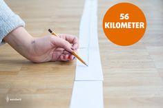 Wie weit Ihr mit einem Bleistift kommt? 56 Kilometer! ;-) Link zum Tagebuch: https://www.facebook.com/wendweb/?fref=ts