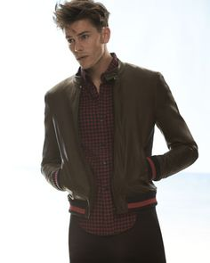 Band of Outsiders Leather Jacket