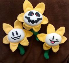 Flowey The Flower Plush by MillysPlushies on Etsy