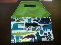Envelope Style Diaper and Wipes Case/Clutch Tutorial