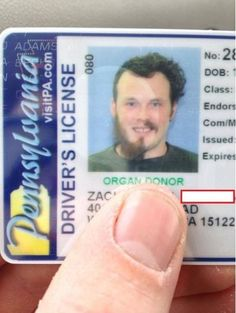 nc organ donor drivers license