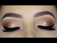 Easy Soft Glam Eye Makeup Tutorial http://makeup-project.ru/2017/12/22/easy-soft-glam-eye-makeup-tutorial/
