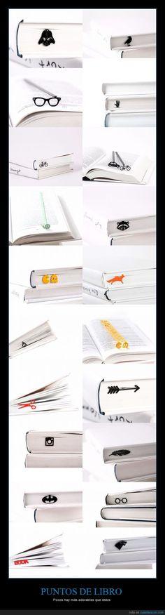 ¿Con qué punto de libro os quedaríais? Yo con el de Harry Potter  - Pocos hay más adorables que éstos
