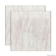 Área externa - Porcelanato Quartzo 62,5x62,5cm beige Elizabeth - Telhanorte