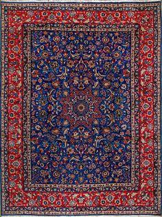 Vintage oriental rugs appartment design