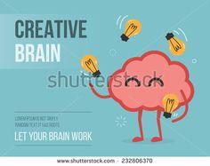 stock-vector-creative-brain-232806370.jpg (450×358)