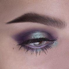 Purple mint halo eye - Makeup Geek