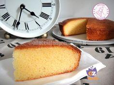 Una torta veloce e molto facile da mangiare cosi o da farcire TORTA 1 MINUTO ALLACQUA - ALLACCIATE IL GREMBIULE