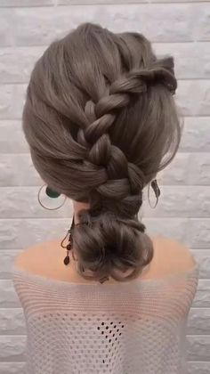 Bun Hairstyles For Long Hair, Step By Step Hairstyles, Weave Hairstyles, Party Hairstyles, Halloween Hairstyles, Girl Hairstyles, School Hairstyles, Natural Hairstyles, Hairstyles For Weddings