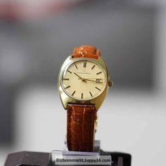 Eterna Matic 12824 Baujahr 1974 mit Uhrenbox, kostenloser Versand.. - Box, Omega Watch, Find Friends, Wrist Watches, Snare Drum