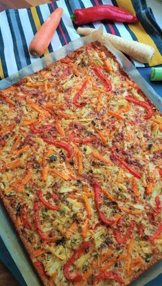 Yummy Food, Tasty, 200 Calories, Vegan Gluten Free, Vegetable Pizza, Food And Drink, Cooking, Breakfast, Healthy