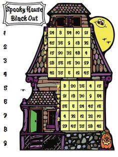 Spooktacular Halloween multiplication games! $