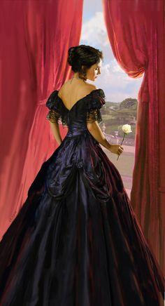 Ela olhava pela janela, ainda meio encantada e encabulada pela rosa que recebera. Acabava de descobrir que talvez o amor não seja de todo ruim, e sim intenso e apaixonante.