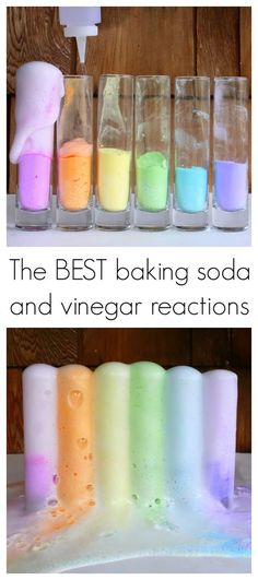 Come learn an easy trick that will get you the most dramatic, puffy, foamy baking soda and vinegar eruptions and learn the science behind it...: