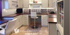 Craft Room Cabinets - AKA - I NEED MORE STORAGE!!!!!!