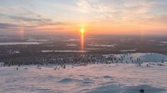 Sun halo in Finland: Markus Kiili Photography