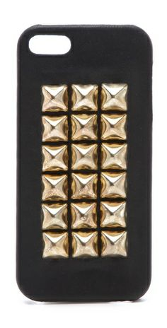Black + Gold iPhone Cover