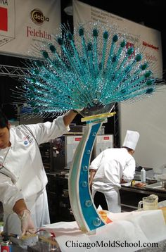 Sugar Showpiece - The Chicago School of Mold Making #sugar #sugarwork