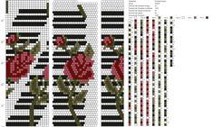21 around bead crochet rope pattern Peyote Beading Patterns, Bead Crochet Patterns, Bead Crochet Rope, Loom Patterns, Loom Beading, Beaded Crochet, Beaded Beads, Crochet Beaded Bracelets, Bead Loom Bracelets