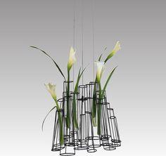 Hive Crokkis Hanging Vase with LED modern vases