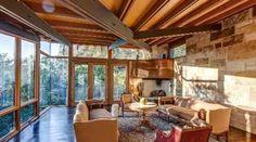 Dream Home: Storied oak wooded view Lake Flato, Alamo Heights, Architecture Design, Patio, Interior Design, Wood, Places, Outdoor Decor, San Antonio