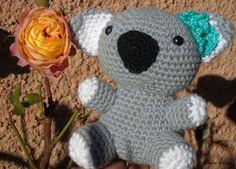 Estrella Bonita: AMIGURUMI KOALA. http://estrellabonitaknit.blogspot.com.es/2015/11/amigurumi-koala.html