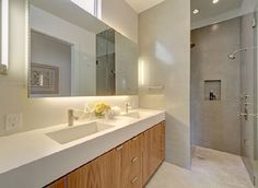 Awesome, yet under-stated shower.