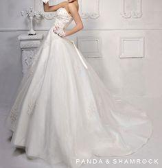 Zoe/wedding gown/women by pandaandshamrock on Etsy, $335.00