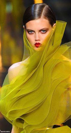 Alexandre Vaulthier Spring 2014   Luxurydotcom via pinterest.com