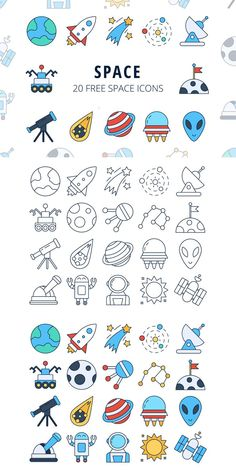 We publish Space Vector Free Icon Set We publiceren Space Vector Gratis Icon Set Design Ios, Icon Design, Icon Set, Icon Tattoo, Space Doodles, Cute Easy Drawings, Space Drawings, 2 Logo, Home Icon