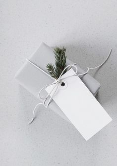 cute grey gift wrap