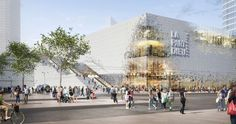 The Lyon Part-Dieu shopping centre houses of a mixture of commercial, leisure and newly created public space. The design restructures each side of the mall, ...