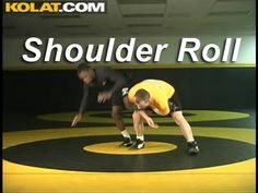 Single Leg Shoulder Roll KOLAT.COM Wrestling Moves Techniques Instruction