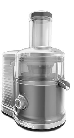 Juicing has never been easier   KitchenAid® Contour Silver Easy Clean Juicer