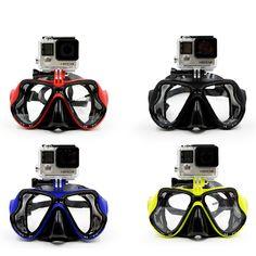 GoPro Mount Scuba Diving Mask