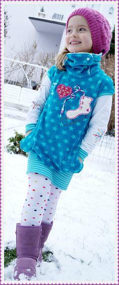 Amelie - mit breitem Saumbündchen; foto-idee