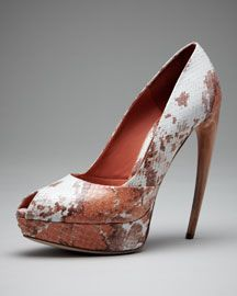 I'd probably also buy these McQueen beauties.