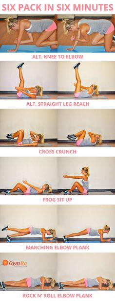 Quick Abs Workout to help reveal your six pack and lose love handles!