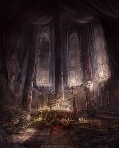 Destroyed Ritual Room by jbrown67 on deviantART