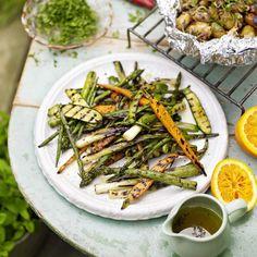 Gegrilde groente ingredienten - Jamie magazine